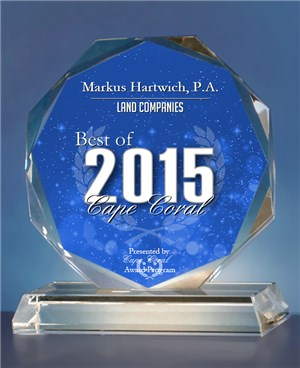 Best of 2015 Award Cape Coral Land Companies