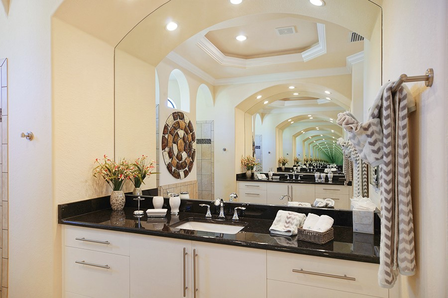 cape coral fl home builder model home modern vanities