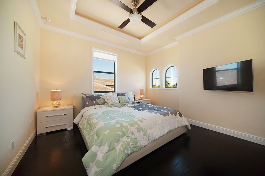 new construction homes in cape coral florida 2story upper floor bedroom