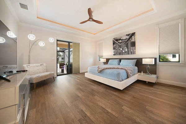 cape coral builder new home model contemporary master suite