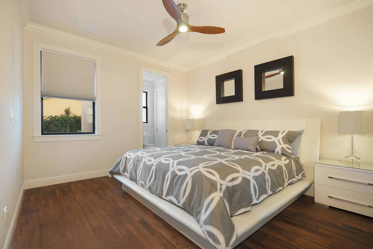New construction model Coral laguna bedroom contemporary