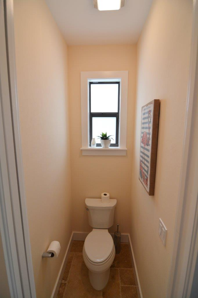 Hausbau Neubaumodell Sunset Bay 1 in Cape Coral Master Toilette