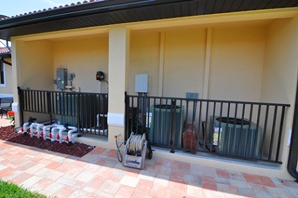 Haus bauen in Cape Coral Modell Coral Laguna 1 Technik Equipment Nische